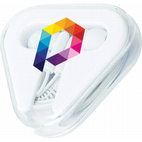 Branded Earbuds by Pixel Studio, Oxford