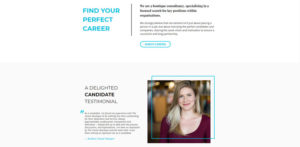 The Career Boutique -Recruitment Website Design by Pixel Studio